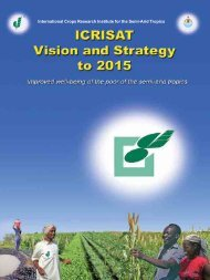 download ICRISAT Vision and Strategy to 2015
