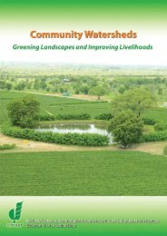 Community Watersheds - Icrisat
