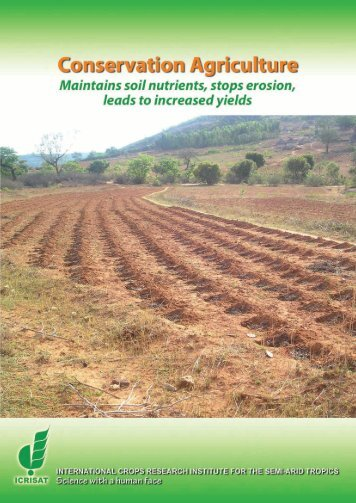 Conservation Agriculture - icrisat
