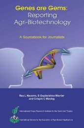 Genes are Gems: Reporting Agri-Biotechnology - isaaa