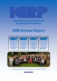 ICRP 2009 Annual Report Now Available