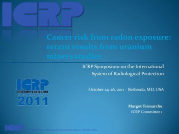 Lung Cancer Risk from Radon Exposure - ICRP