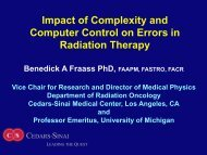 Computer-Controlled Conformal Radiation Therapy (CCRT) - ICRP