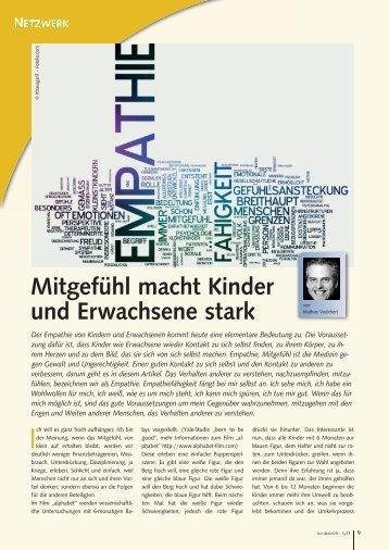 Lesen Sie hier den gesamten Artikel im Magazin ... - Familylab