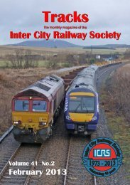 February - Intercity Railway Society