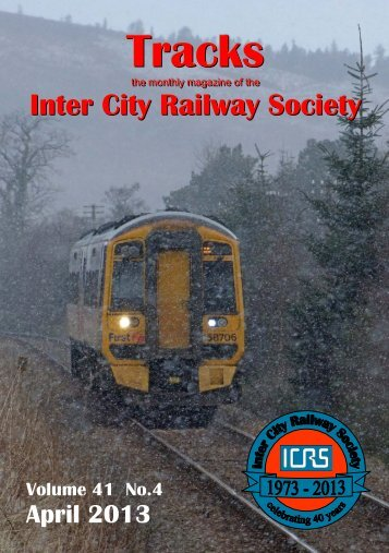 April - Intercity Railway Society