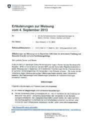 Erläuterungen zur Weisung vom 4. September 2013 - Bundesamt für ...