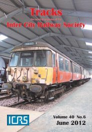June - Intercity Railway Society