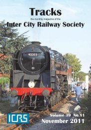 November - Intercity Railway Society
