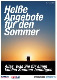 Heiße Angebote für den Sommer - Bodo Köhler GmbH
