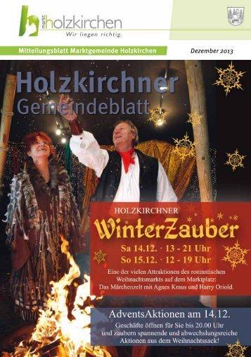 Dezember 2013 - Holzkirchen