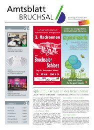 Amtsblatt KW 39/2013 - Bruchsal