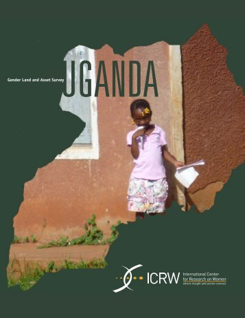 Gender Land and Asset Survey Uganda - ICRW