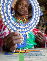 Understanding and measuring womens economic ... - MIMU
