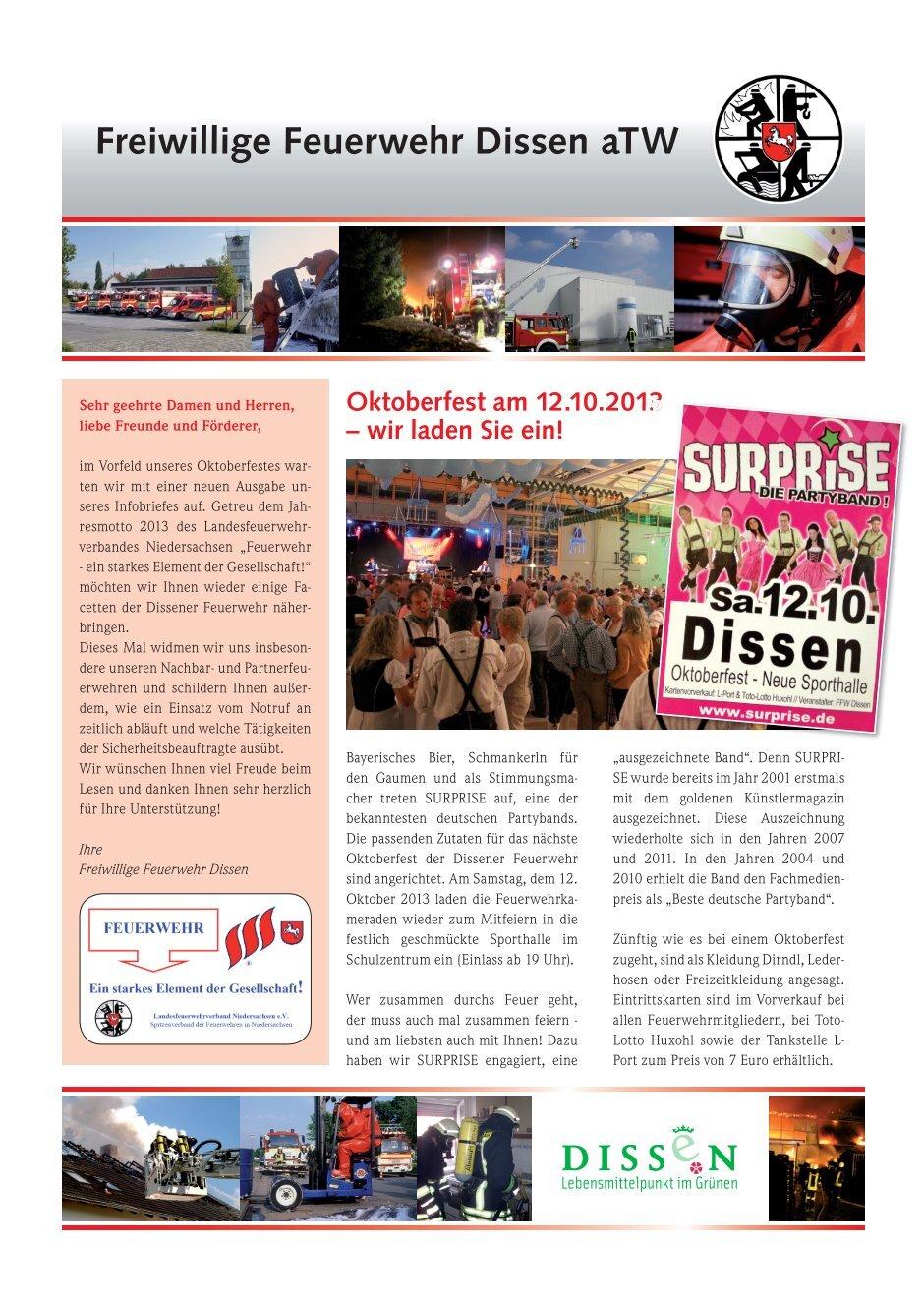 20 free Magazines from FEUERWEHR.DISSEN.DE