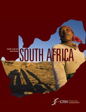 SOUTH AFRICA Asset Survey - ICRW