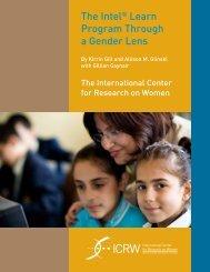 The Intel Learn Program Through a Gender Lens - ICRW