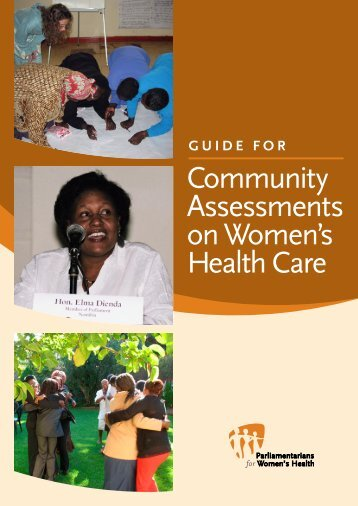 Guide for Community Assessments on Women's Health Care - ICRW