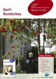 Dorf-Rundschau November - Dezember 2013 / Januar 2014