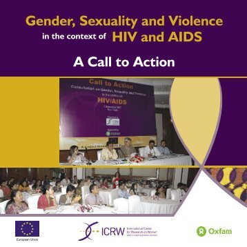 Gender, Sexuality and Violence in the context of HIV and AIDS - ICRW