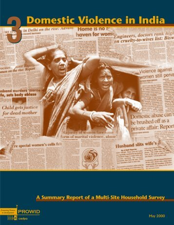 Domestic Violence in India 3: a Summary Report of a Multi ... - ICRW
