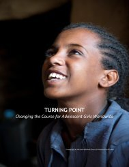 More on Turning Point - ICRW