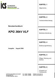 KPG 36kV VLF - ICS Schneider Messtechnik GmbH