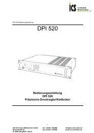 DPI 520 - ICS Schneider Messtechnik GmbH