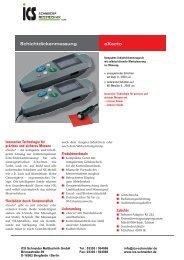 eXacto Schichtdickenmessung - ICS Schneider Messtechnik GmbH