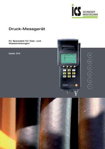 technisches Datenblatt - ICS Schneider Messtechnik GmbH