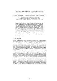 Coloring RDF Triples to Capture Provenance - ICS