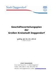 Download Geschäftsverteilungsplan - Deggendorf