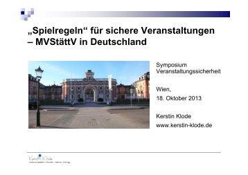 Folie Diplom-Finanzwirtin Kerstin Klode - Die Fachgruppe Wien der ...
