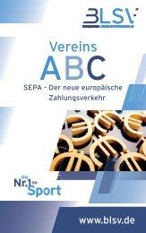 SEPA - Vereins ABC - blsv