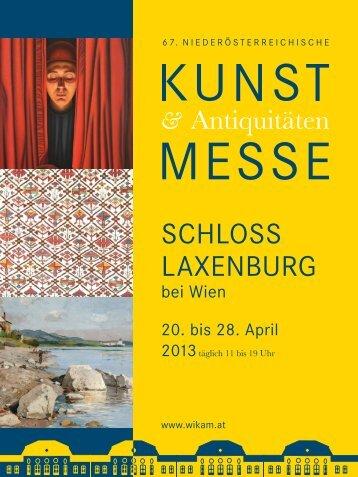 Wikam Magazin Schloss Laxenburg Messe 2013 - AltertuemLiches.at