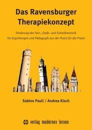 Ravensburger Therapiekonzept - Verlag Modernes Lernen