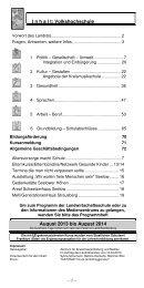 Volkshochschule - Landkreis Märkisch-Oderland