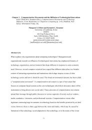 Computerization Movements and the Diffusion of Technological ...