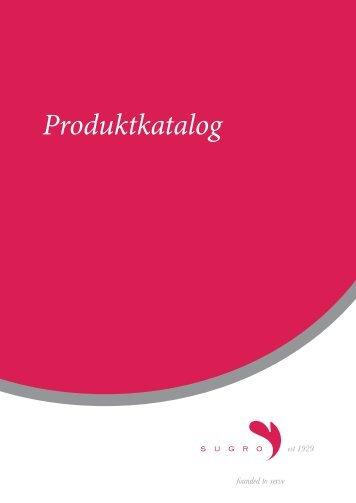 Produktkatalog - SUGRO