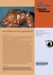 Falk Gastro-Kolleg Leber und Gallenwege Falk Gastro-Kolleg Leber ...