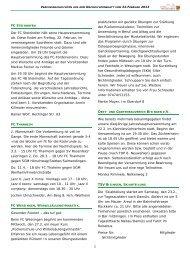 Vereinsnachrichten 22. Februar 2013 als PDF - Gemeinde Bisingen