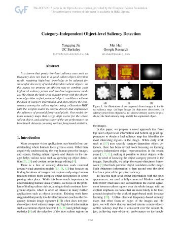 Category-Independent Object-Level Saliency Detection