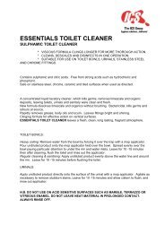 essentials toilet cleaner - Industrial Cleaning Supplies (Liverpool)