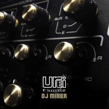 DJ MIXER - Weichhart