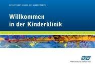 Flyer Kinderklinik (PDF)