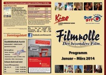 Programm Januar – März 2014