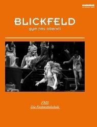 BLICKFELD - Gymnasium Oberwil
