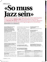 Bilanz - Festival da Jazz