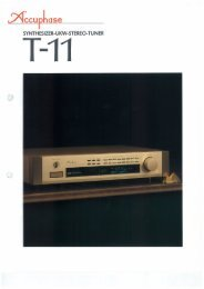 Page 1 CCU PLUS@ SYNTHESIZER-UKW-STEREO-TUNER T41 ...