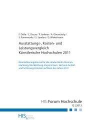 Download HIS:Forum Hochschule 12|2013